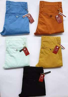 Branded casual cotton pants stock lot