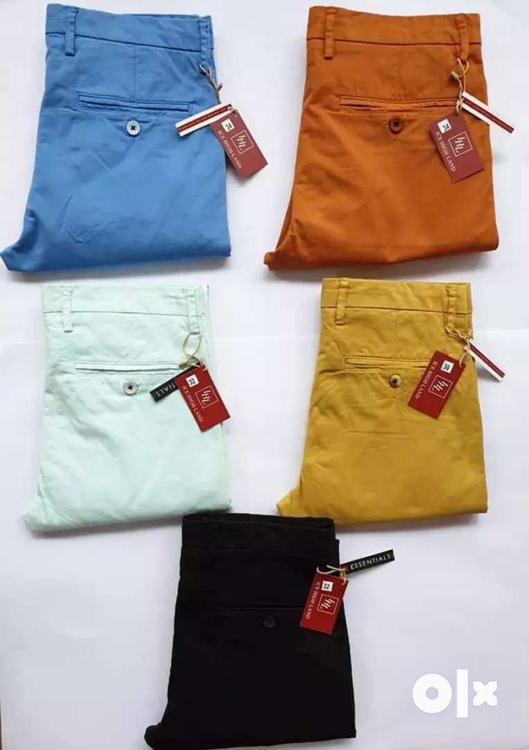 Branded casual cotton pants stock lot 0