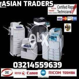 All types of HP Ricoh Samsung Toner Refilling also New available