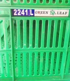 Keranjang Serbaguna / kontainer Industri Green Leaf 2241L