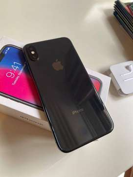 iPhone X available with all accessories and good price