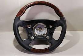Mercedes Benz wooden steering wheel stir kayu mercy