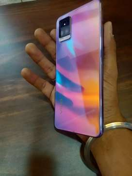 Vivo V20 8/128 7months old all papers and box with voot fastcharge