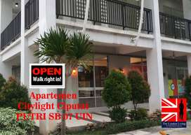 Apartemen harian Ciputat Citylight The London Livingg
