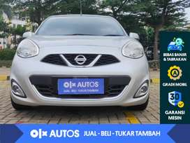 [OLX Autos] Nissan March 1.5 A/T 2014 Silver