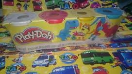 Mainan anak playdoh isi empat pcs baru minat inbok ja