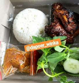 Nasi ayam bakar (nasi boxssss)