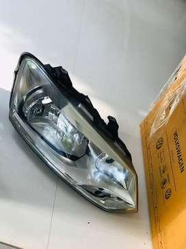 Volkswagen vento 2012 model left headlamp