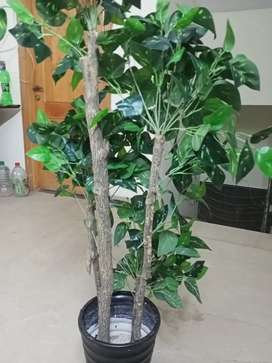 Artificial leaves plant