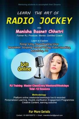 Radio Jockey Online Master Class