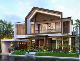 Jasa Arsitek Mando Desain Rumah 343m2 - Emporio Architect