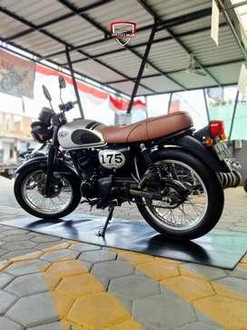 Diskon Kawasaki W175 SE th 2019 Silver Murah Istimewah Mustika Motor