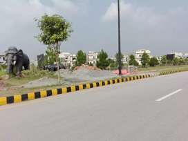 Bahria Enclave Sector C Kanal Plot Highted Location park face