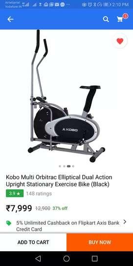 Orbritical cycling machine
