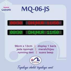 menjual jam digital tauqoly mauquta running text series