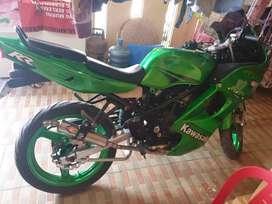 Kawasaki ninja rr 2012 tukar tambah matic ajukan