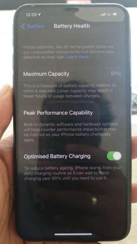 Iphone 11 pro max 64gb green color