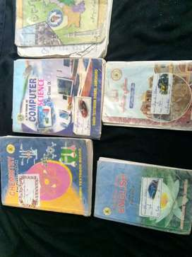9th standers Sindh board syllabus books and all notes for sell
