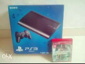 Sony ps3 500gb game cansol box pek 27 games