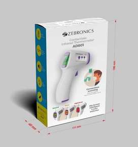 Zebronics CONTACTLESS INFRARED THERMOMETER  AD801