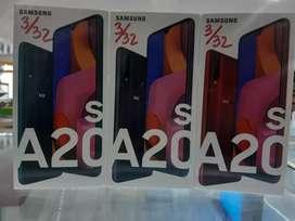 Samsung A20s 3/32 segel || Tripel camera bosku