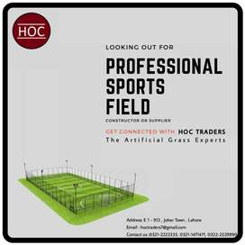 Artificial grass, sports fields, Astro turf HOC Traders  grass experts