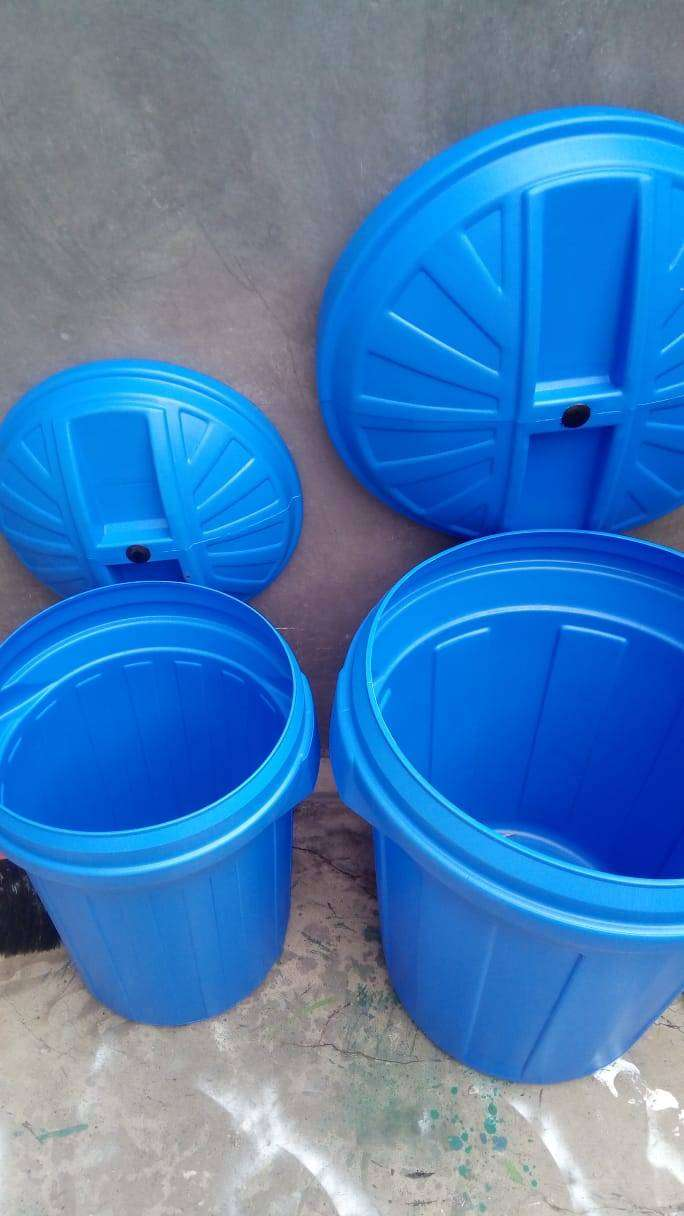 Tong sampah berkapasitas jumbo | Bak sampah berbahan super plastik 0