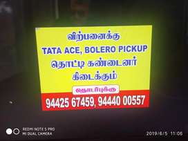 Cargo box of Tata ace(place in salem)