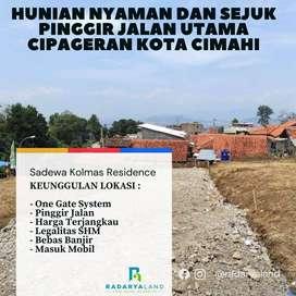 Tanah Murah Cimahi, Siap Bangun Pingir Jalan, Strategis di Cipageran