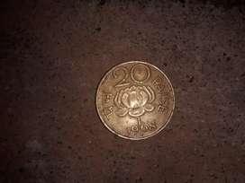1968 Indian rair 20 payasa