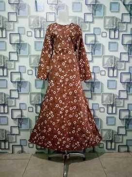 Peluang bisnis pakaian gamis wanita dewasa,produksi langsung konveksi