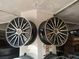 "Used Alloy Wheels for Innova, Ertiga Size- 15"""