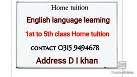 Tuition for kids i m teacher