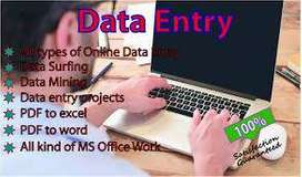 Online Form Filling / Data entry jobs opportunity in DELHI