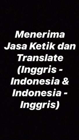 JASA KETIK DAN TRANSLATE