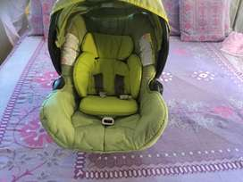 High chair Chico, stroller and car chair from GRACo, potty seat  new,