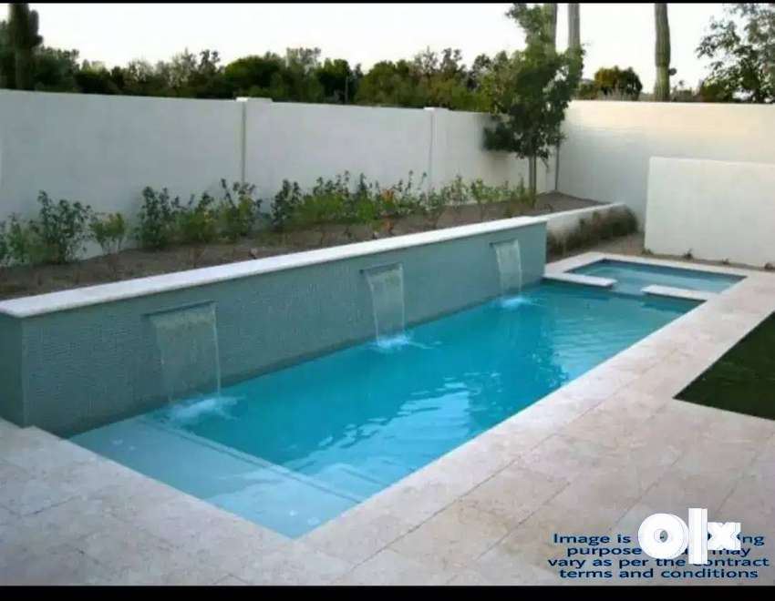 2BHK Residential Villa with swimming Pool P+C Available for Sale