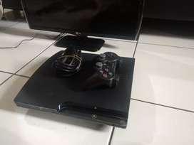 Jual cepat PS 3 slime CECH-2500A  HDD 120GB