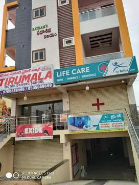 Godown ,office available for rent beside bachpan play school beramguda