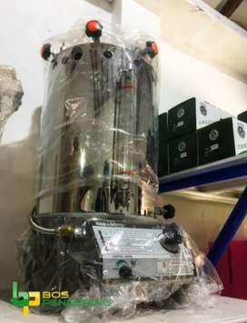Mesin Setrika Uap 15 Liter Merk Nagamoto Boiler Steamer 15 Liter