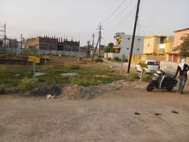 plot to sell corner plot in maharajpur housing board colony Adhartal