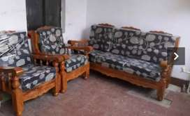 New mysuru teak wood sofa set