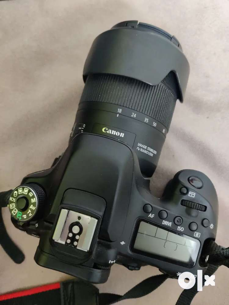 Canon 80D with 18 135 warranty