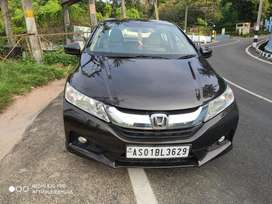 Honda City 1.5 V MT Sunroof, 2014, Diesel