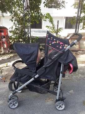 Stroller tandem merk goodbaby
