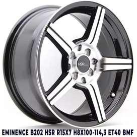 suka velg baru EMINENCE B202 HSR R15X7 H8X100-114,3 ET40 BMF