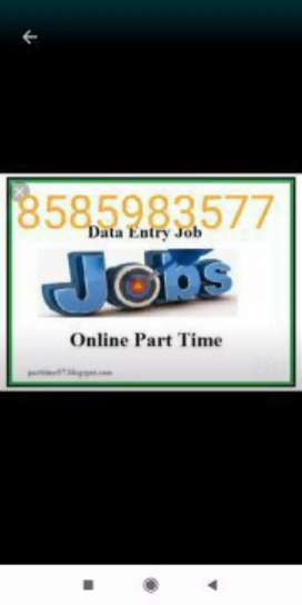 We are providing home based job at your location