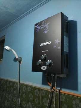 Pemanas air kamar mandi terbaru LED