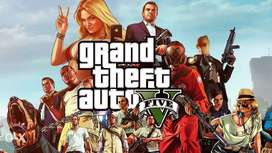 GTA 5 GAME For Pc 65 GB 80%oOff Price Full Genuine
