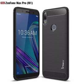 Softcase / Hardcase / Case Ipaky Carbon Asus Zenfone Max Pro M1
